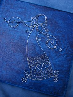 Drôtovanie, galéria | Artmama.sk Diy Angels, Beaded Angels, Wire Art Sculpture, Wire Sculptures, Abstract Sculpture, Bronze Sculpture, Wire Crafts, Metal Crafts, Christmas Jewelry
