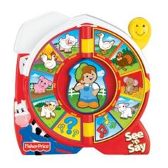 Fisher-Price+See+'n+Say+Farmer+Says