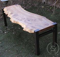Custom Made Siberian Elm Bench