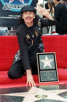 8-17 in 1998: Carlos Santana is awarded a star on the Hollywood Walk of Fame.
