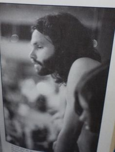 Jim Morrison overlooks crowd at the close of the infamous 1969 Miami concert