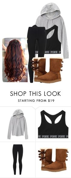 """School Outfit"" by chloefaust on Polyvore featuring Victoria's Secret, NIKE and UGG"