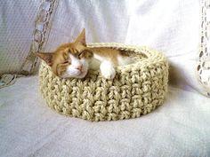 sweet dream cat basket