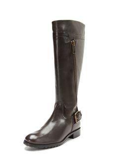 1/2/13  Rivet Boot by Corso Como   live for a great chocolate brown riding boot. definite winter staple. @Gilt.com