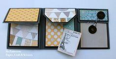 One Sheet Wonder Mini Album | paper, craft & scissors