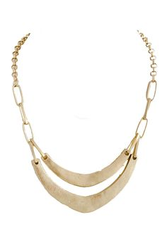 Boomerang Chain Link necklace $18