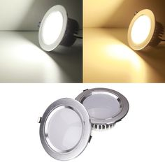 9W LED Down Light Ceiling Recessed Lamp Dimmable 220V + Driver
