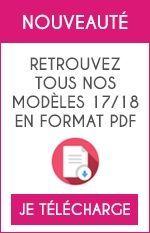 Retrouvez tous nos modèles 17/18 en format PDF