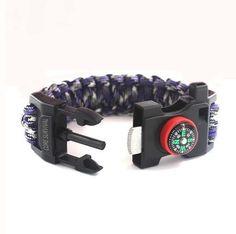 Paracord Survival Bracelet (Large)