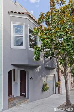 Bernal Heights.  Great terrace/views.  Not big 3 bd 2 baths 1 car garage.  Very pretty inside (classic, wood floors ornate corniches etc.)  Small kitchen.  1550 sqft.  High quality.  $1,150,000.  131 Ellsworth St.  2 miles from whole foods on 24th.  1.5 mile from shuttle.  On top of hill.  Small garden. Sept 30. Tiny bathrooms.  11/08/2012 Listing removed  Was put back on the market early January.  same price.
