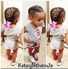 Braids / scalp braids / cornrows / hair designs / protective hairstyle / little girl hairstyle / pretty hairstyles for kids / toddle hair