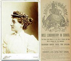 Annie Londonderry,  (1870 - 1947)  fue la primera en dar la vuelta al mundo en bicicleta en el año 1895. A sus 25, y siendo madre, tomó su bici para demostrar al mundo entero que las mujeres tienen igual capacidad de valerse por sí mismas que los hombres. Y lo consiguió. Jamás había andado en bicicleta antes, pero aprendió para realizar esta proeza. El viaje duró 15 meses y merece mencionar que su bicicleta no tenía frenos.