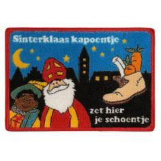 Musthave voor als je thuis geen schoorsteen hebt! #Sinterklaas Schoenkleed