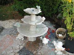 Beton giessen - DIY - Anleitung - Wie baue ich mir einen Springbrunnen/ Building a water fountain - YouTube