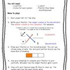Comparing Fractions Dice Game- This game is perfect for reviewing how to write and compare fractions!  It can be used with the whole class or at a math center.  Students will wor...