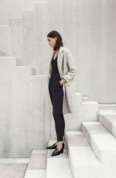 02 Trendy Business Casual Work Outfit for Women Looks Street Style, Looks Style, Minimal Chic, Minimal Fashion, Minimal Trends, Minimal Look, Womens Fashion For Work, Work Fashion, Style Fashion