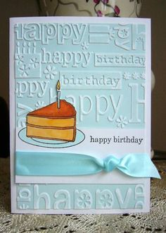 birthday card by