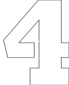 Number stencils, Letter stencils, Free stencils printables, Printable pumpkin stencils, Alphabet stencils printables, Letter stencils printables - This collection of printable number stencils, from ze -  #Numberstencils