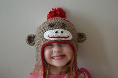 Sock Monkey Hat !!!!!