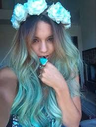 Resultado de imagen para azul turquesa cabello