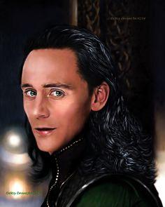 "creativehiddles: ""Loki - The Dark World XVIII by AdmiralDeMoy """
