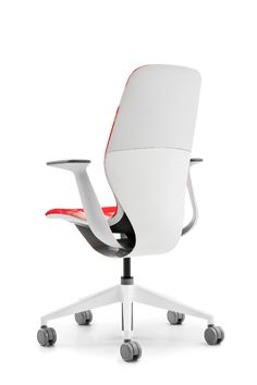 """Your imagination has no limits with the variety of material combinations available for SILQ. This """"surf shop"""" inspired version of SILQ fits people who want to express an optimistic, fresh and spontaneous personality. Office Furniture, Office Chairs, Ergonomic Chair, Consumer Products, Desk Chair, Surf Shop, Home Office, Designer, Innovation"""