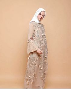 Dress k – Mylycia Kebaya Modern Hijab, Kebaya Hijab, Kebaya Dress, Dress Pesta, Hijab Gown, Hijab Dress Party, Hijab Style Dress, Dress Brokat Muslim, Muslim Dress