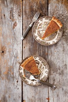 The silky, custardlike base of this autumnal pie is made from sweetened navy bean purée spiced with nutmeg, vanilla, and cinnamon.