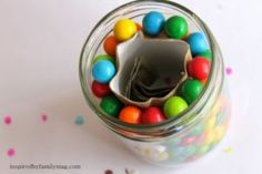 bubble gum money jar gift