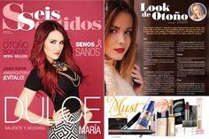 "La revista ""seis sentidos"" te invita a probar un look de otoño utilizando la CC Cream de CRISTIAN LAY. :)  www.cristianlay.com"
