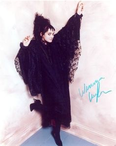 Winona Ryder as Lydia in Beetlejuice 1988.. I still love the clothes and hairstyle.