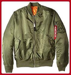 Alpha Industries Men's MA-1 Flight Bomber Jacket, Sage Green, X-Large/Tall - Mens world (*Amazon Partner-Link)