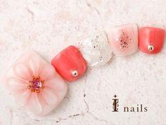 Spring Nail Trends, Spring Nails, Mani Pedi, Pedicure, Pink Acrylic Nails, Sweet Wine, Feet Nails, Nail Bar, Trendy Nails