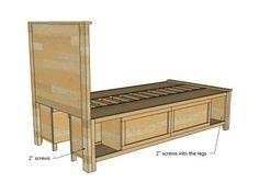 Hailey Storage Bed - Twin