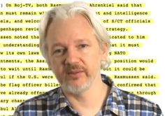 "In a conversation with ""Imaginary Lines"" host Chris Spannos, WikiLeaks founder and Editor-in-Chief Julian Assange discussed his new book, ""When Google Met WikiLeaks,"" which is based on a conversation Assange had with Google Executive Chairman Eric Schmidt.  - 2014/10/24"