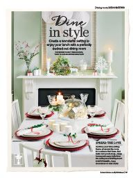 """I saw this in """"Complete Guide To Christmas"""" in Ideal Home Complete Guide to Christmas."""