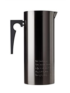 Statement Jug with Icelip by Paul Smith for Stelton on Gilt Home
