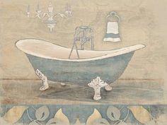 Bath Blue I (Jace Grey)
