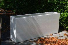 Afbeeldingsresultaat voor wit beton plantenbak