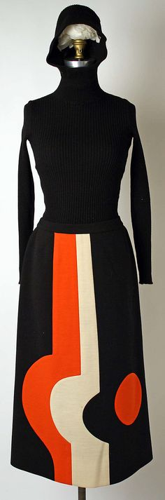 Pierre Cardin opened his house and 1950 and designed different and exciting pieces for women in the 50's and 60's