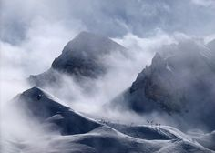 Pyramide & Roc Merlet, Courchevel by Niall Corbet, via Flickr
