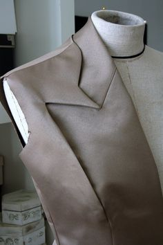 Innovative Pattern Cutting adding shape & depth; tailoring; creative sewing; fabric manipulation // Olga Serova