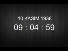 ✿ ❤ 10 Kasım 2015 / Canım ATA'mızın aramızdan ayrılışının 77. Yılı.