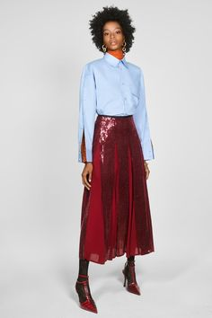 zara campaign Zara Campaign Collection S - campaign Lace Skirt, Midi Skirt, Sequin Skirt, Summer Minimalist, Sequin Appliques, Zara Fashion, Zara Women, Mannequin, Clubwear
