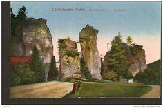 440. Germany, Teutoburger Wald - Externsteine - Landseite