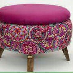 Recycled Furniture: Ideas Chairs, Ottoman And Tables Made From Tires - Decorating Ideas - Home Decor Ideas and Tips Recycled Furniture: Ideas Chairs, Ottoman And Tables Made From Tires – Home & Decor Tire Furniture, Funky Furniture, Recycled Furniture, Painted Furniture, Furniture Design, Recycled Home Decor, Furniture Movers, Home Decor Furniture, Cheap Home Decor