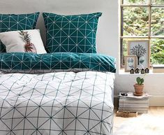 The ATLA duvet cover is reversible, allowing you to create multiple looks with one set!