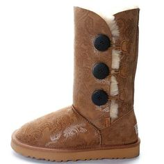 Ugg Bailey Button Triplet Boots 1873 Phoenix Chestnut sale  $89.00