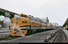 The Rio Grande Zephyr: DRGW 5771 Denver & Rio Grande Western Railroad EMD F9(A) at Denver, Colorado by Marty Bernard