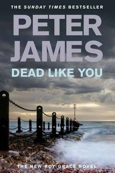Dead Like You by Peter James. Don't read this alone if you like wearing fancy shoes!!